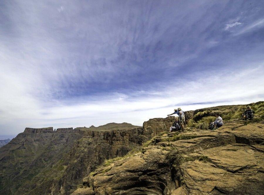 Reise in Südafrika, Drakensberge