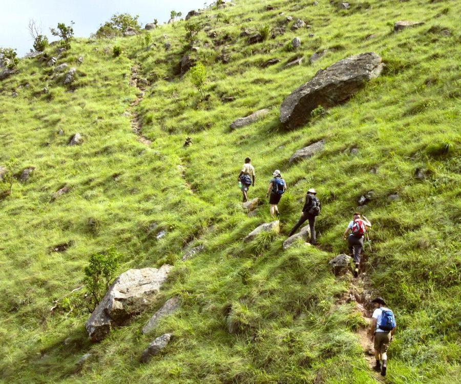 Reise in Südafrika, Wanderung im Malolotja-Naturschutzgebiet, Eswatini