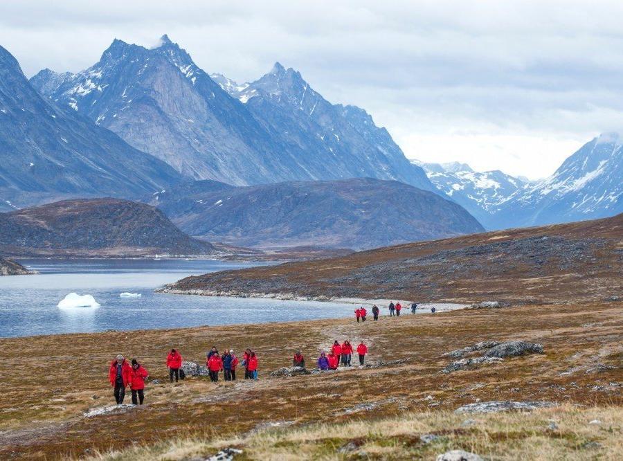 Reise in Grönland, Die Bucht bei Uunartok