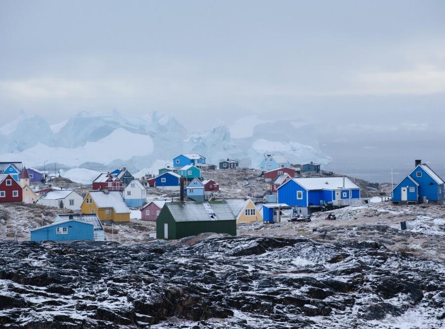 Reise in Grönland, Erster Schnee in Westgrönland