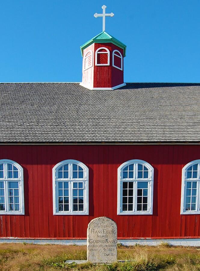 Reise in Grönland, Über 200 Jahre alte Kolonialgebäude in Qaqortoq