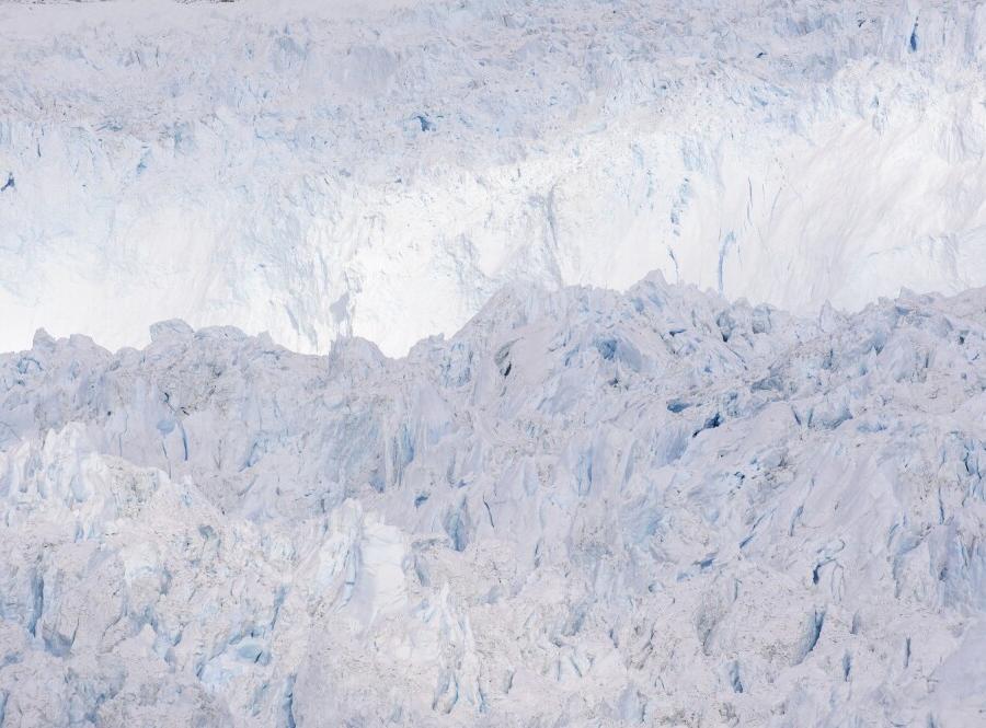 Reise in Grönland, Am Eqip-Sermia-Gletscher