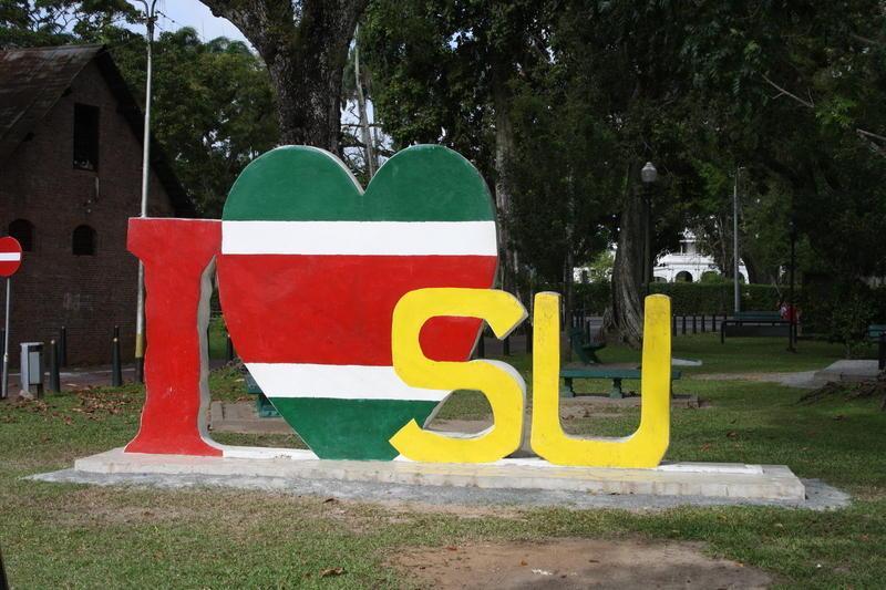 Reise in Suriname,  Rückflug von Suriname