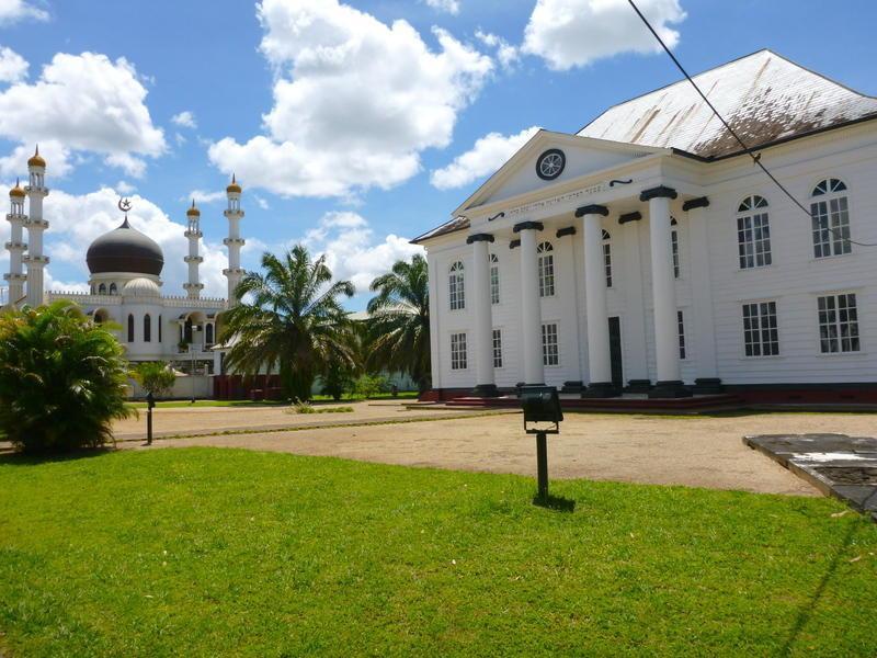 Reise in Suriname, Eine City Tour durch Paramaribo steht heute auf dem Reiseprogramm