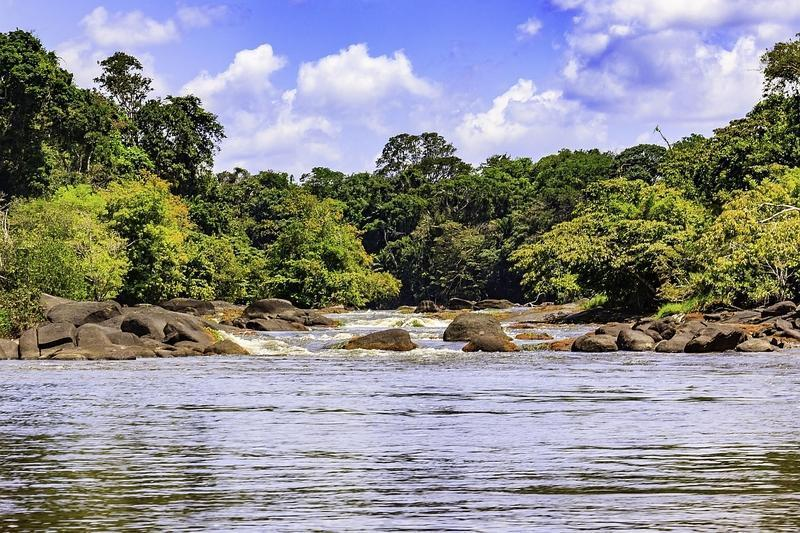 Reise in Suriname, Ein Highlight unserer Reise, die Suriname-Dschungelexpediton, beginnt