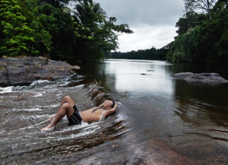 Reise in Suriname,  Inmitten der Avanavero-Stromschnellen
