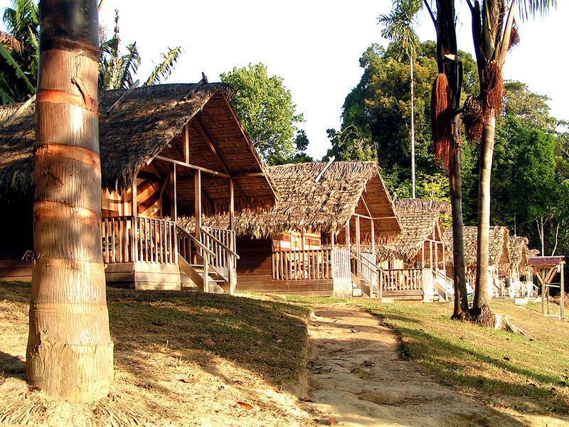 Reise in Suriname, Danpaati Lodge