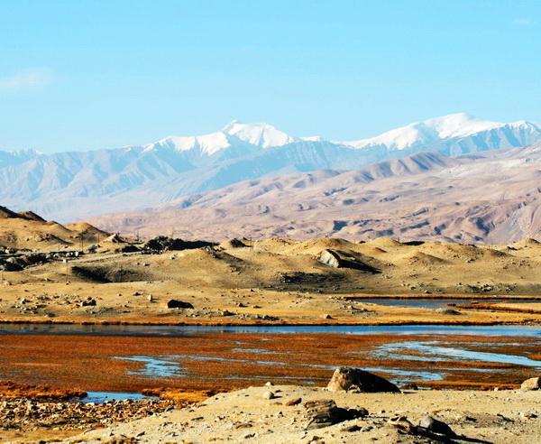 Reise in Tadschikistan, Karakul-See in Tadschikistan