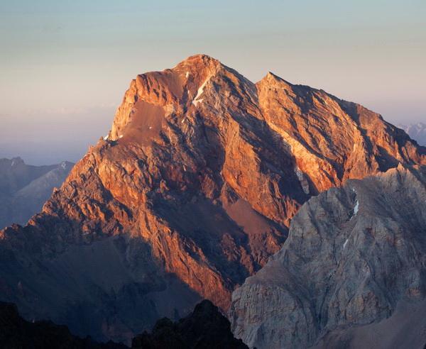 Reise in Tadschikistan, Berggipfel im Fan-Gebirge