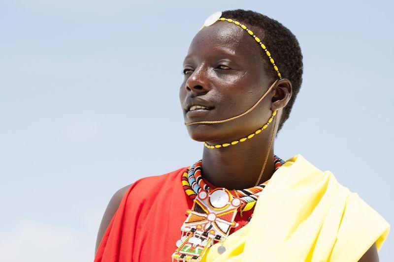 Reise in Tansania, Stolze Massai in Tansania