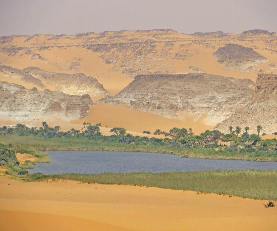 Reise in Tschad, Landschaft im Ennedi