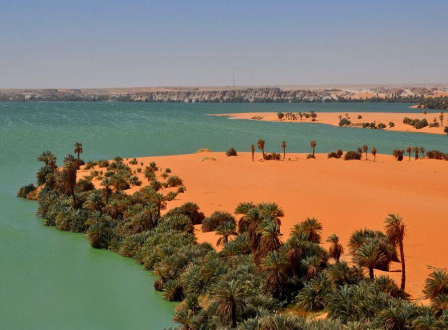 Reise in Tschad, Wüstenoasen im Tschad