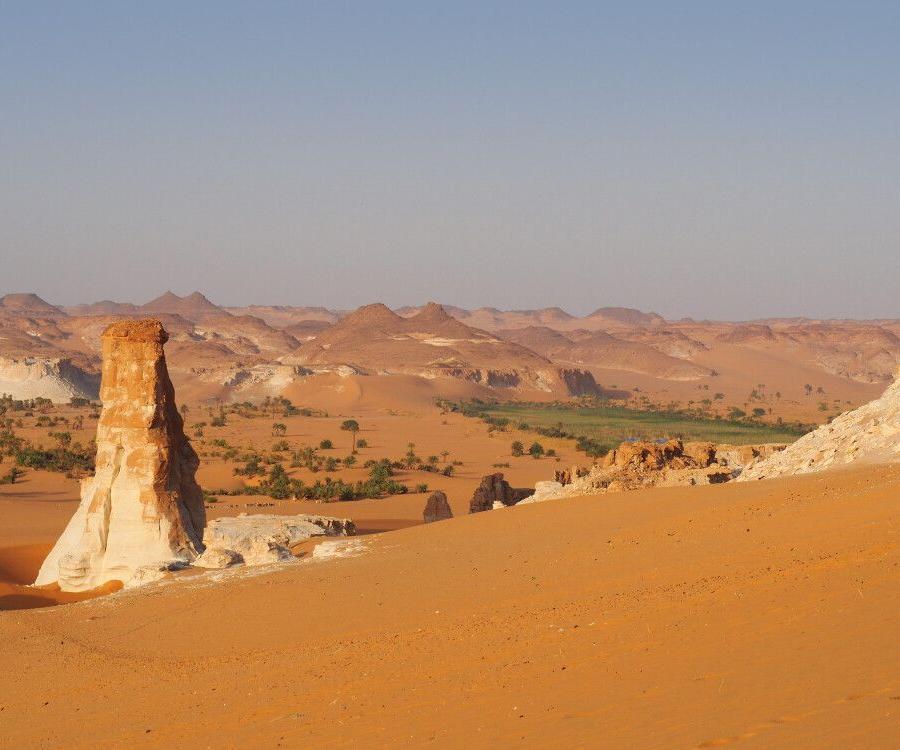 Reise in Tschad, Wüstensand und Felsentürme