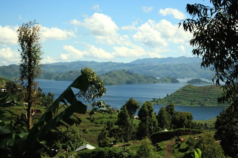 Reise in Uganda, Landschaft in Zentraluganda