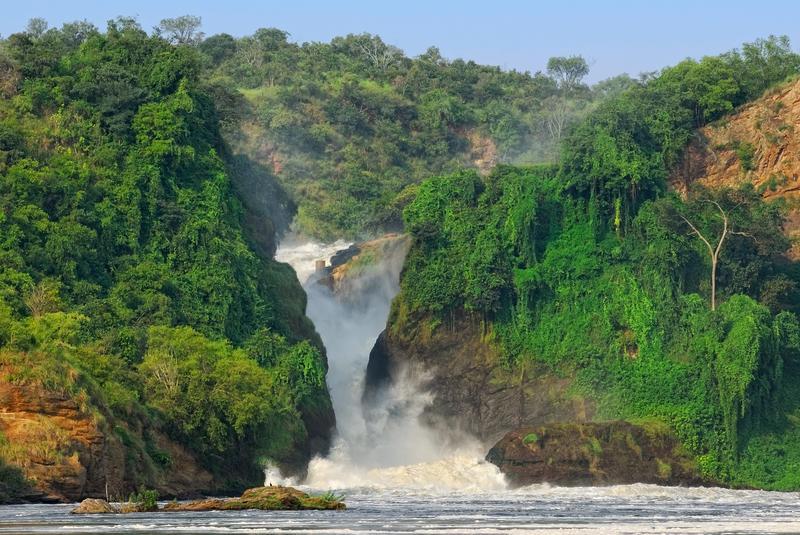 Reise in Uganda, Die legendären Murchison-Wasserfälle in Uganda