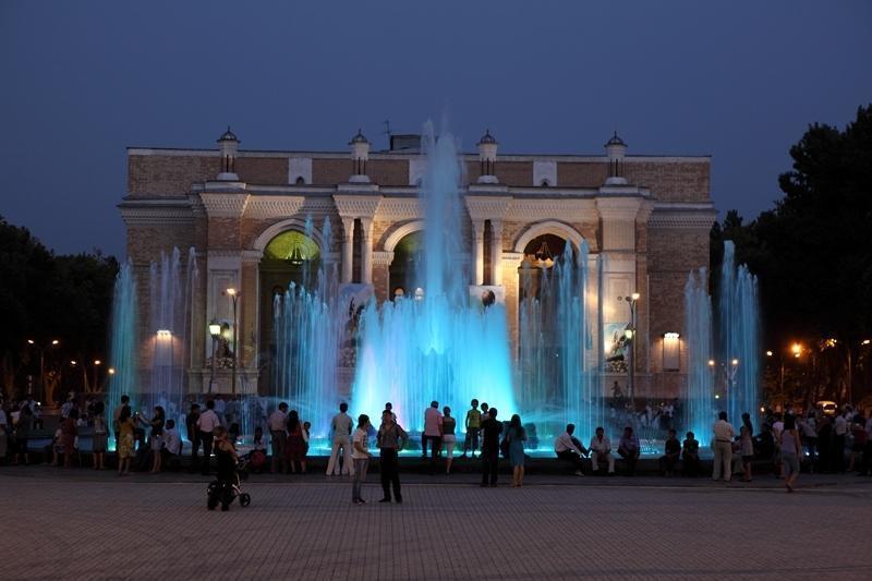 Reise in Usbekistan, Taschkent