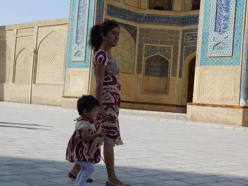 Reise in Usbekistan, Buchara erkunden