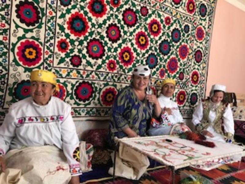 Reise in Usbekistan, Unsere Gastgeber in Hayat