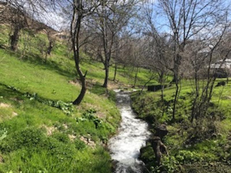 Reise in Usbekistan, Landschaft bei Hayat