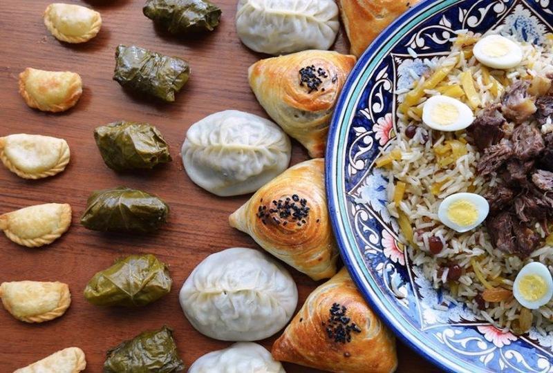 Reise in Usbekistan, Usbekische Köstlichkeiten