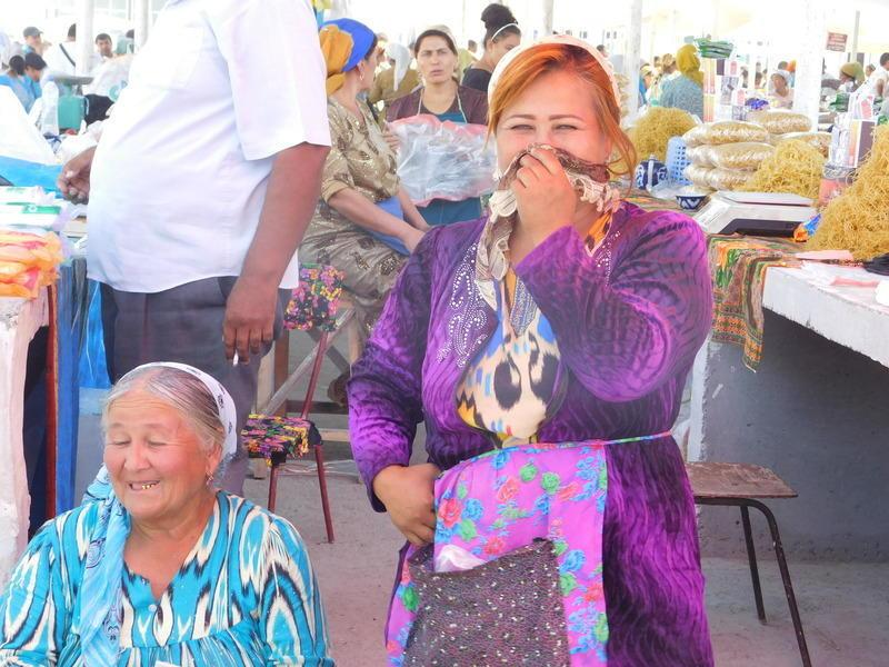 Reise in Usbekistan, Sonntagsmarkt im Ferganatal