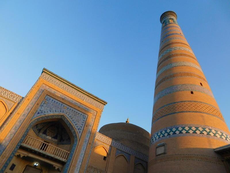 Reise in Usbekistan, Oasenstadt Chiwa
