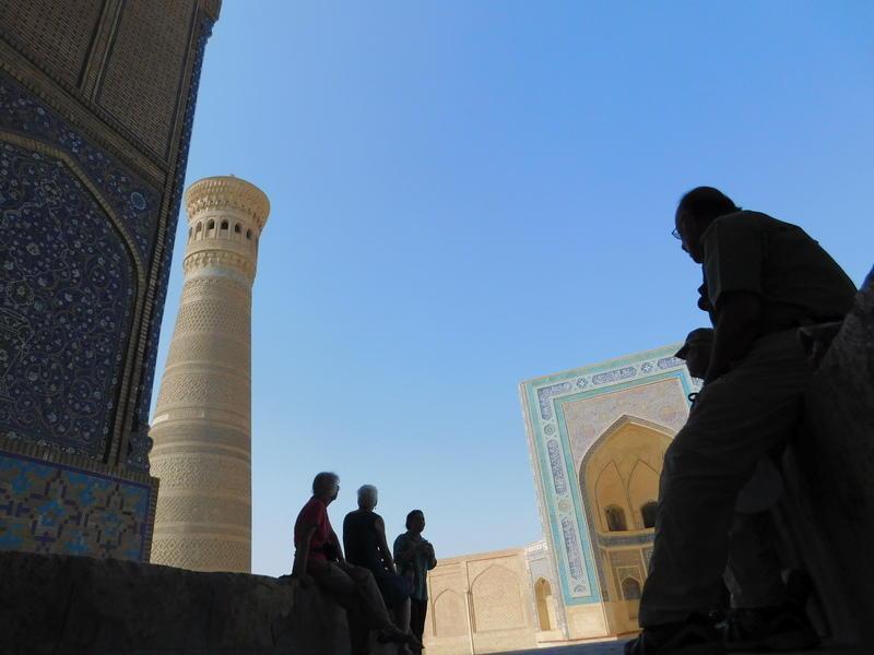 Reise in Usbekistan, Buchara Poikalon Komplex