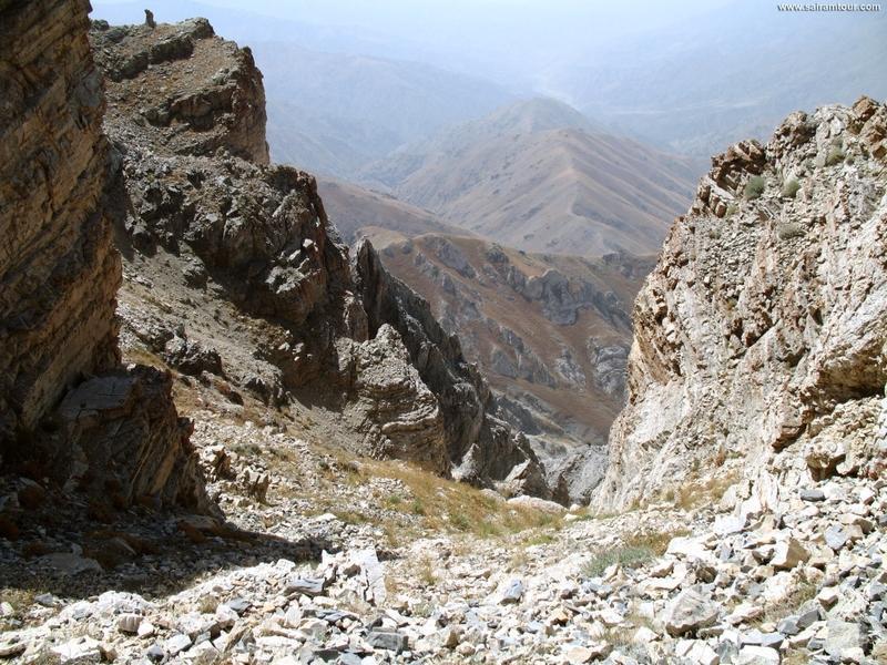 Reise in Usbekistan, Wandern in den Chimgan-Bergen