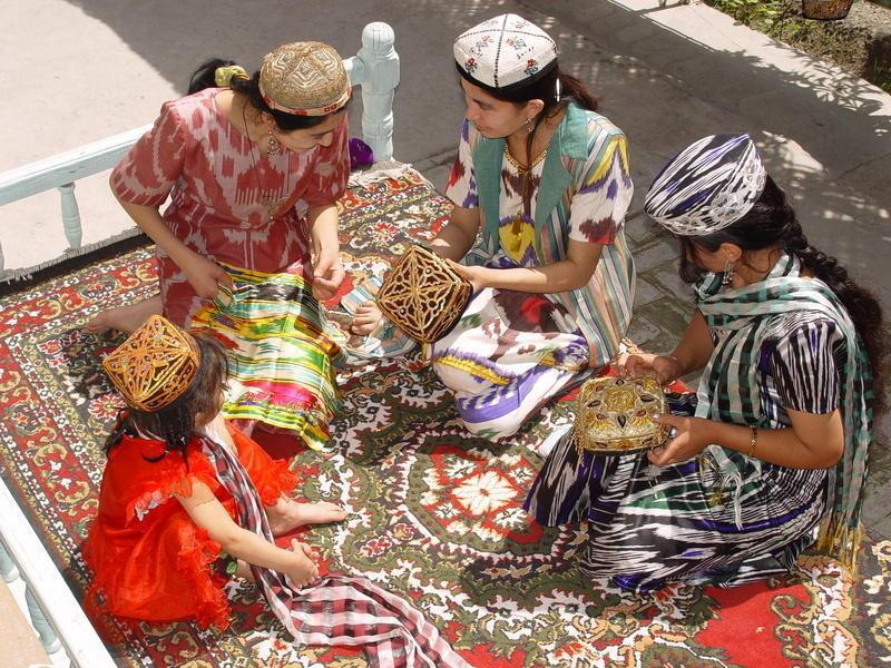Reise in Usbekistan, Kunsthandwerk in Buchara