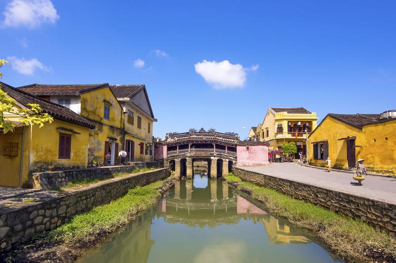 Reise in Vietnam, Japanische Brücke in Hoi An
