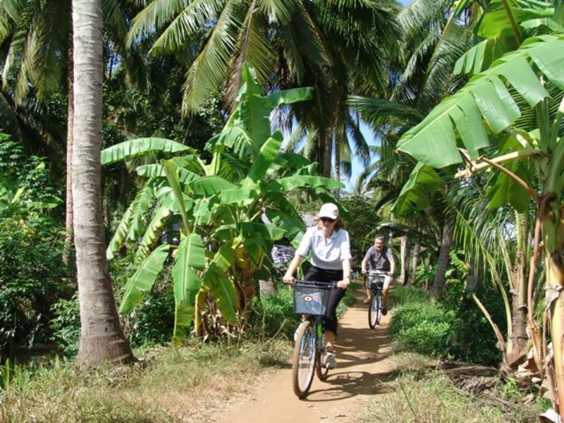 Reise in Vietnam, Vietnam Radtour im Mekongdelta