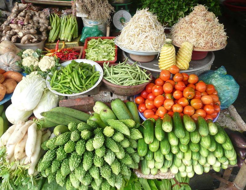 Reise in Vietnam, Vietnam - Markt