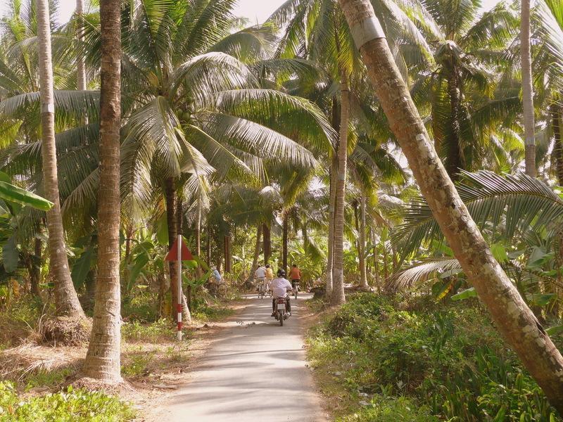 Reise in Vietnam, Mekongdelta-Radeln um Ben Tre