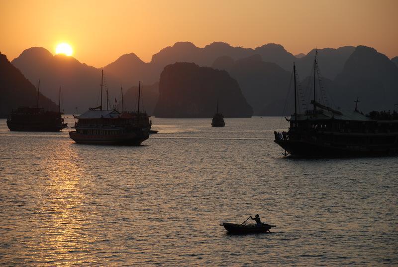 Reise in Vietnam, Halongbucht © Harald Sander