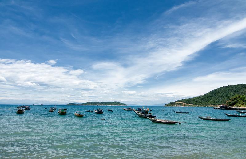 Reise in Vietnam, Bootsfahrt zur Cham Inselgruppe