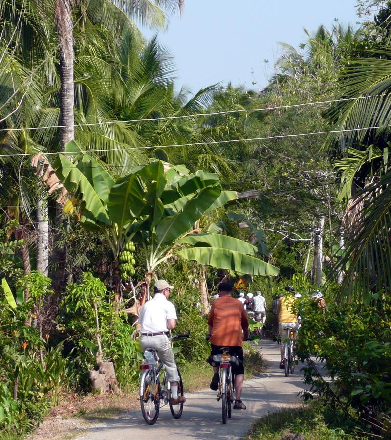 Reise in Vietnam, Radtour in der Natur Vietnams und Besuch einer lokalen Familie