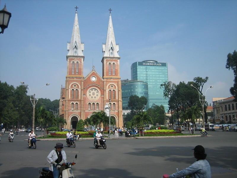 Reise in Vietnam, Vietnam: Strassen Saigons