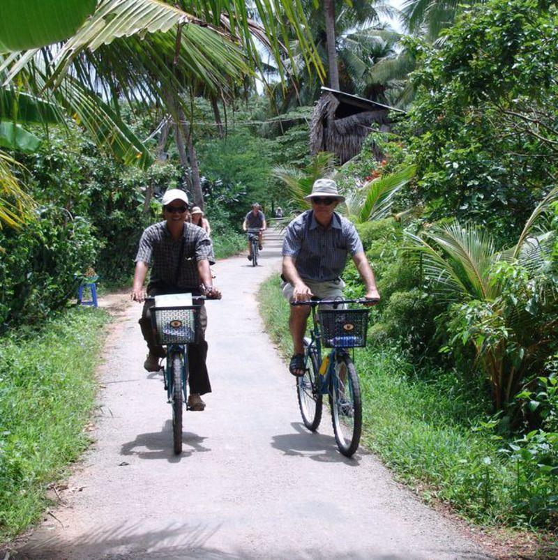 Reise in Vietnam, Vietnam : Radfahren im Mekongdelta