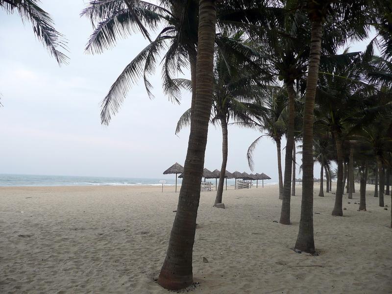 Reise in Vietnam, Strand von Hoi An