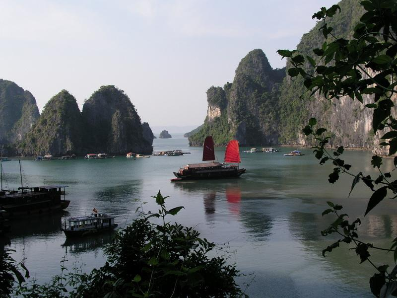 Reise in Vietnam, Halongbucht in Vietnam