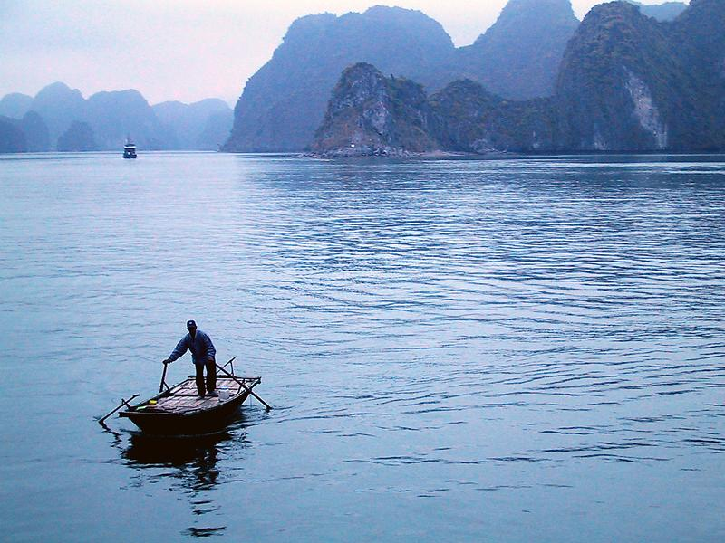 Reise in Vietnam, Halon