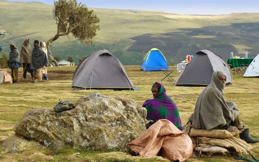 Reise in Äthiopien, Vom Abessinischen Hochland in die Wüste Danakil Trekking- und Kulturrundreise
