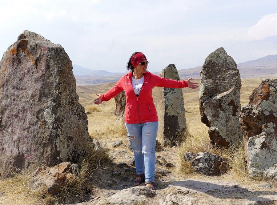 Reise in Armenien, Menhire in Südarmenien