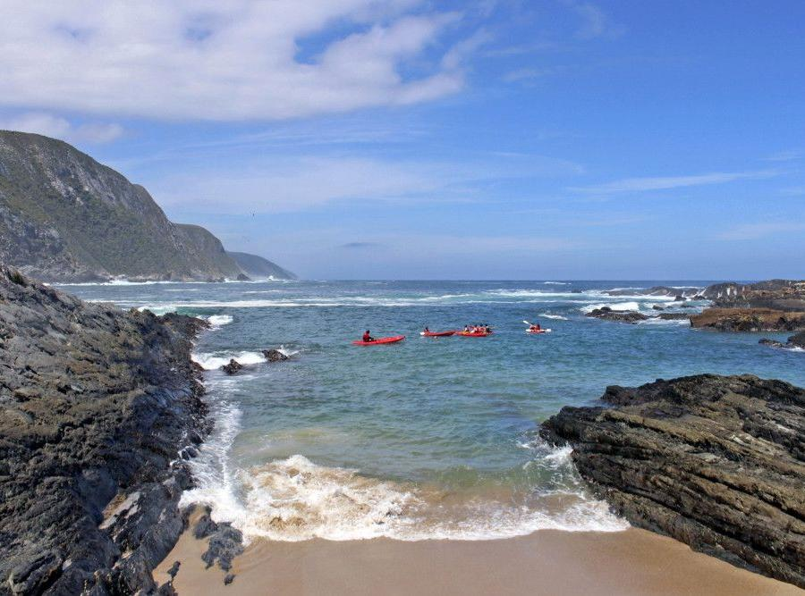 Reise in Südafrika, Leuchtturm am Kap