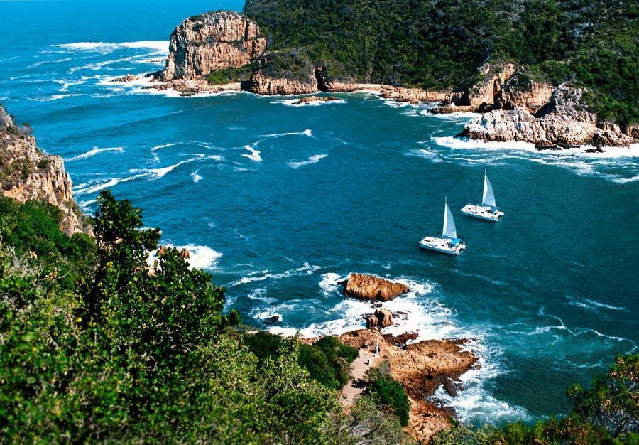 Reise in Südafrika, Kapstadt von oben