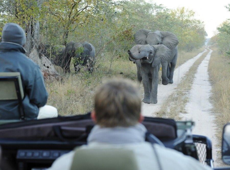 Reise in Südafrika, Auf dem Weg nach Hermanus, Sonnenuntergang