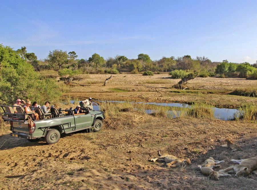 Reise in Südafrika, Blick auf die Knysna Lagune