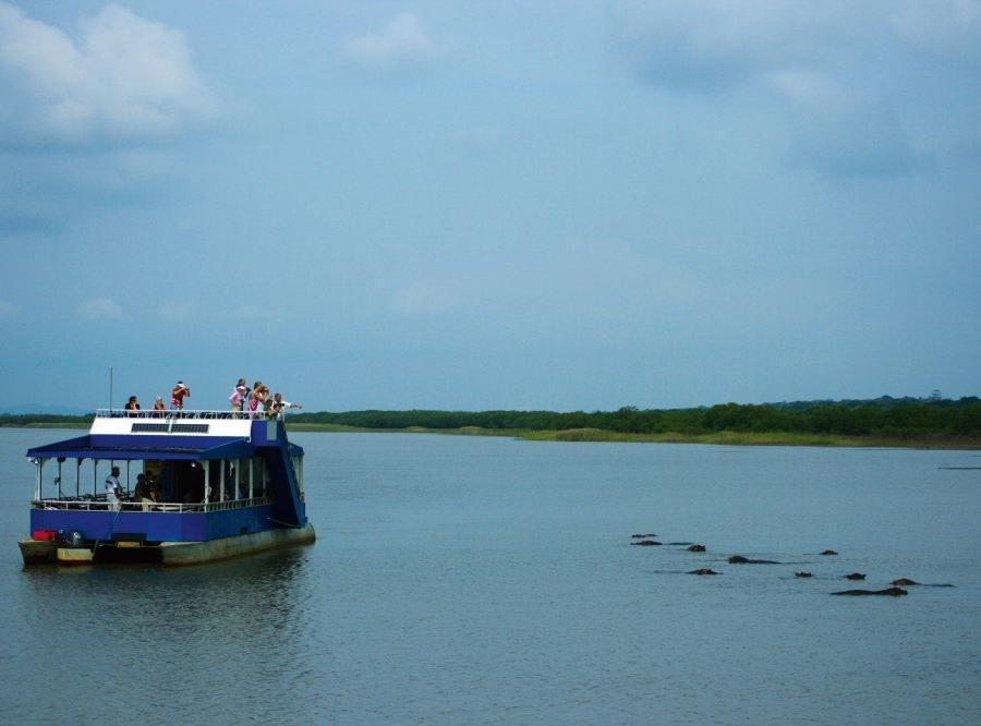 Reise in Südafrika, Bootfahrt St. Lucia Wetland Park