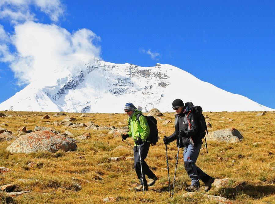 Reise in Indien, Ladakh Thiksey Kloster unweit von Leh