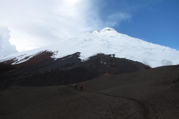 Reise in Ecuador, Vulkantrekking Cotopaxi und Chimborazo